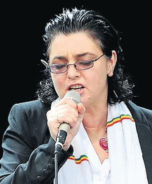 Sinead O'Connor: attending matchmaking festival