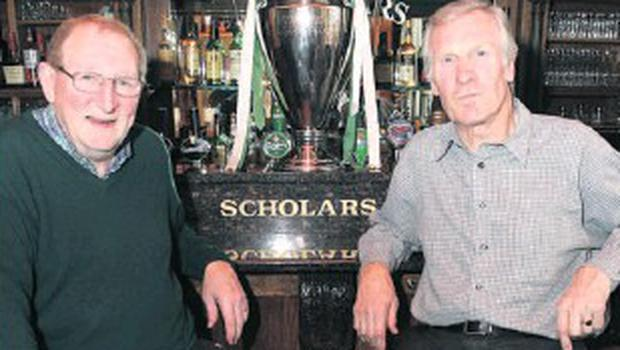 Tommy Gemmell and Billy McNeill