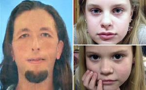 Adam Mayes shot himself while Alexandria (top right) and Kyliyah Bain were safe. Photo: AP