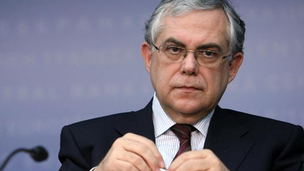 Greek prime minister Lucas Papademos. Photo: Getty Images