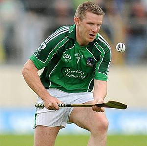 Mark Foley in action for Limerick in 2009