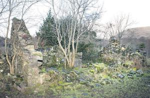 The cottage, was bought in the Eighties by Gregory Ebbitt, who promised to restore it but still has not. It provided the main location for the film 'The Quiet Man'