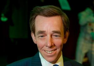 The new wax sculpture of The Late Late show presenter, Ryan Tubridy  at the National Wax Museum in Dame Street. Picture credit; Damien Eagers 30/4/12