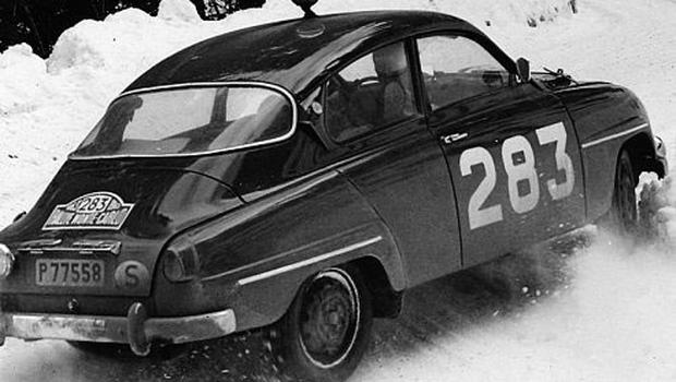 CLASSIC: The Saab 96 at the 1963 Monte Carlo Rally