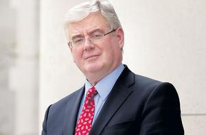 Tanaiste and Minister for Foreign Affairs and Trade Eamon Gilmore