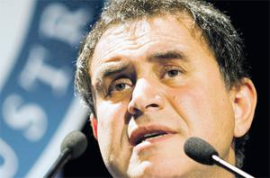 Nouriel Roubini, professor of economics at New York University's Stern School of Business: rate rise would put further pressure on weak euro countries with large sovereign debt, like Ireland