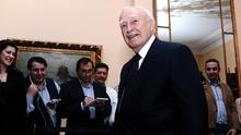 Greece's President Karolos Papoulias at the Presidential Palace in Athens.  Photo: Getty Images
