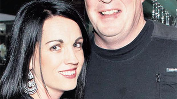 Yvonne and Pat Gilroy pictured at Alan Brogan's 30th birthday celebrations