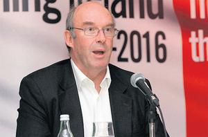 David Hodgkinson, executive chairman, AIB, speaking at the MacGill Summer School yesterday