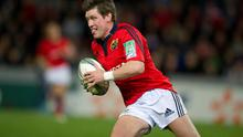 Ronan O'Gara in action for Munster. Photo: Getty Images