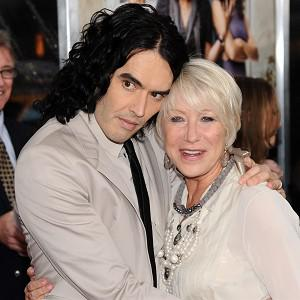 Russell Brand said Helen Mirren told him to stop being polite