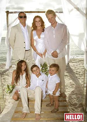 Patsy Palmer features in this weeks Hello! Magazine. Photo: PA