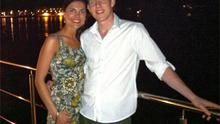 A honeymoon photo of murdered Michaela with her husband John was released by the grieving family yesterday