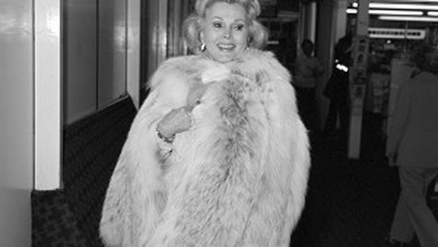 Actress Zsa Zsa Gabor is back in hospital