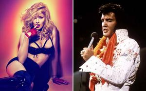 Madonna has beaten Elvis Presley's record of 11 chart-topping albums. Photo: Reuters