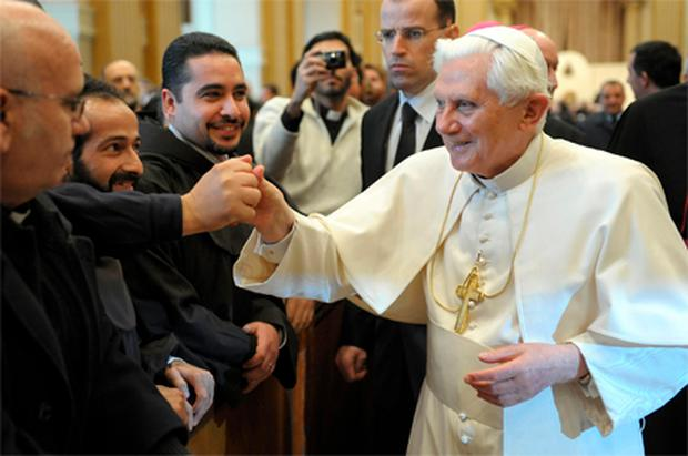 Pope Benedict: confirmed the worst expectations of his critics by failing to announce measures to tackle clerical sex abuse
