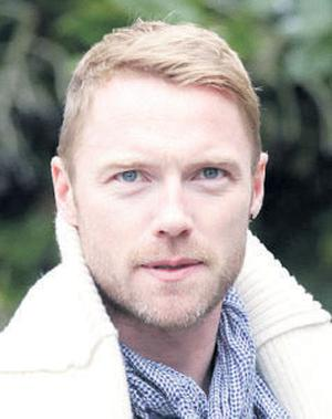 Ronan Keating: confirmed the end of his marriage