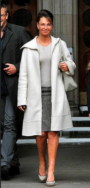 Carole Caplin pictured outside court yesterday. Photo: PA
