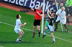 But they were on the receiving end of another controversial call when Benny Coulter scored his goal for Down in last year's semi-final