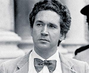 Malcolm MacArthur leaves the High Court in July 1983