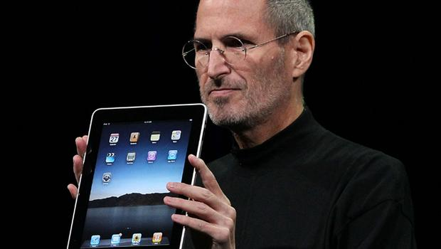Despite Steve Jobs's key role at Apple, recent market reaction to his need to take sick leave was however less extreme than some analysts had suggested it might be. Photo: Getty Images