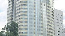 The Kutuzoff Tower in Moscow