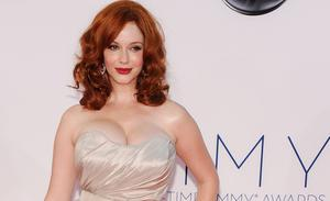 Christina Hendricks is famous for her curvy figure.