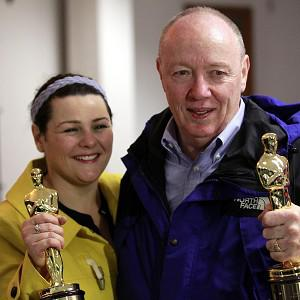 Oscar-winning director Terry George and his daughter Oorlagh are back in Northern Ireland