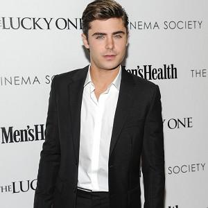 Zac Efron stars in The Lucky One, which took the second spot on its opening weekend at the US box office