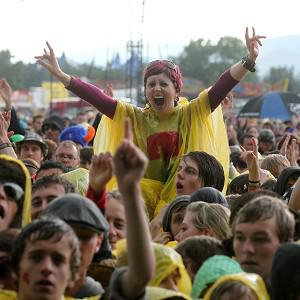 The crowd at the T in the Park music festival