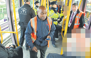The crackdown is targeting those breaking the Luas by-laws, including fare evaders, those loitering or drinking at stops and intimidating other passengers.