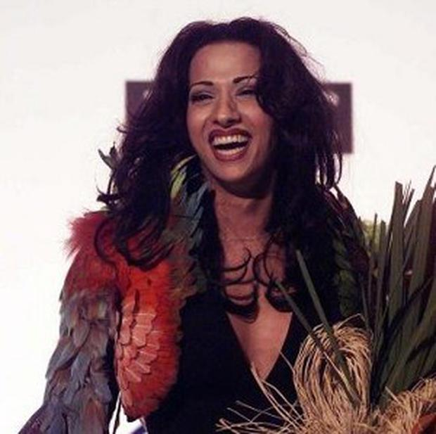Former Eurovision song contest winner and transgendered singer Dana International