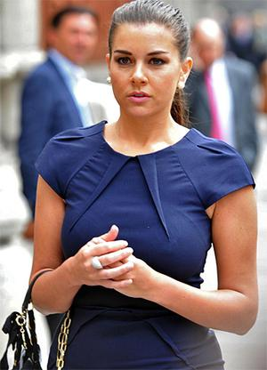 Imogen Thomas, with whom Giggs is alleged to have had an affair. Photo: PA