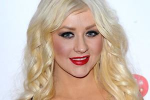 Christina Aguilera performed a raunchy routine on The X Factor final. Photo: PA