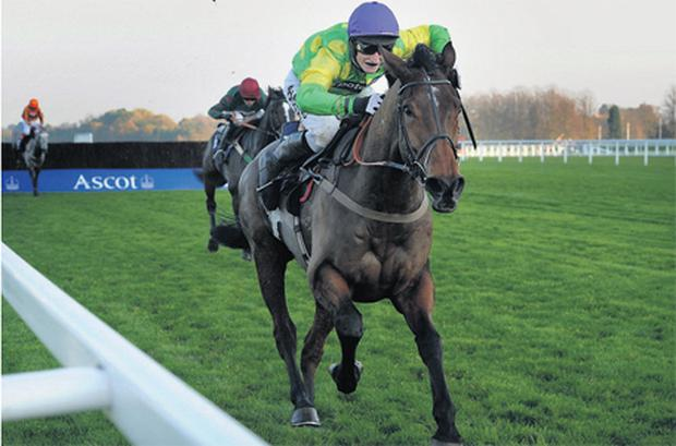 Master Minded, here winning at Ascot under Daryl Jacob, is heading for the King George according to owner Clive Smith