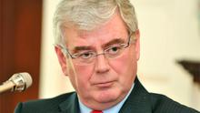 Tanaiste Eamon Gilmore: Disgusted by the latest Real IRA threats. Photo: Damien Eagers