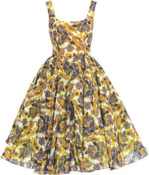 Floral-print dress, €195, Salon collection, Asos.com