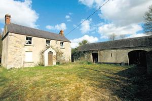 Three-bedroom in need of refurbishment at Garlow Cross, Lismullen, Co Meath, is quoting €300k