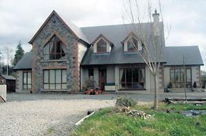Dormer-style residence at Kilmyshall, Durrow, Co Laois, is quoting €395k