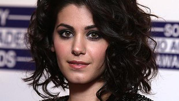 Katie Melua had a brief stay in hospital last year