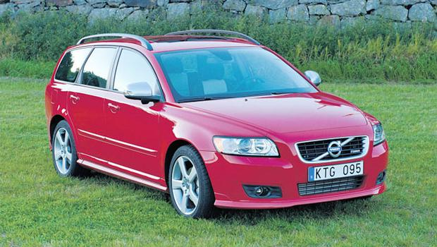 ECONOMY: The V50 is one of the many models delivering fantastic diesel consumption figures