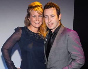SORCHA FURLONG  AND GORDON WELDON   PICTURED AT THE OPENING OF THE VENUE NIGHTCLUB AT THE GRAND HOTEL  WICKLOWPIX BRIAN MCEVOY