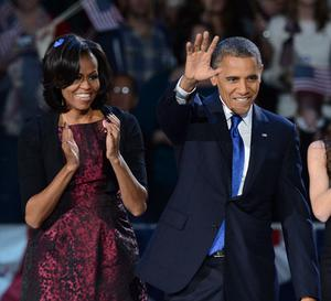 Michelle has worn this Michael Kors dress before