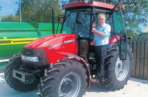 The winner of a Case IH JX90 will be announced at the Ploughing on Thursday