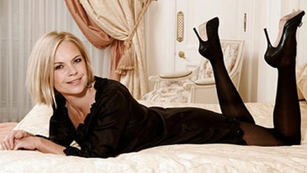 Mariella Frostrup, the television and radio presenter, has admitted inadvertently advertising herself as a swinger