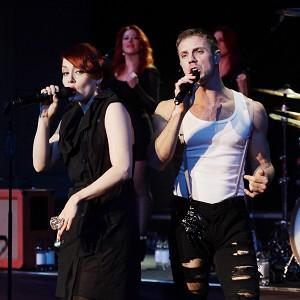The Scissor Sisters have had to cancel their dates in mainland Europe