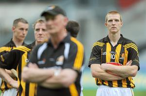 Henry Shefflin, Kilkenny, shows his dissapointment after the match. Photo: Sportsfile
