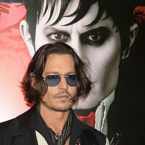 Johnny Depp arriving at the Dark Shadows UK film premiere at the Empire Leicester Square