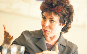 Comedian Ruby Wax was told that Ireland's suicide rate is soaring because of financial problems in families.