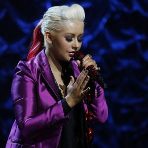 Christina Aguilera, a Staten Island native, performs during Hurricane Sandy: Coming Together in New York (AP/NBC, Heidi Gutman)